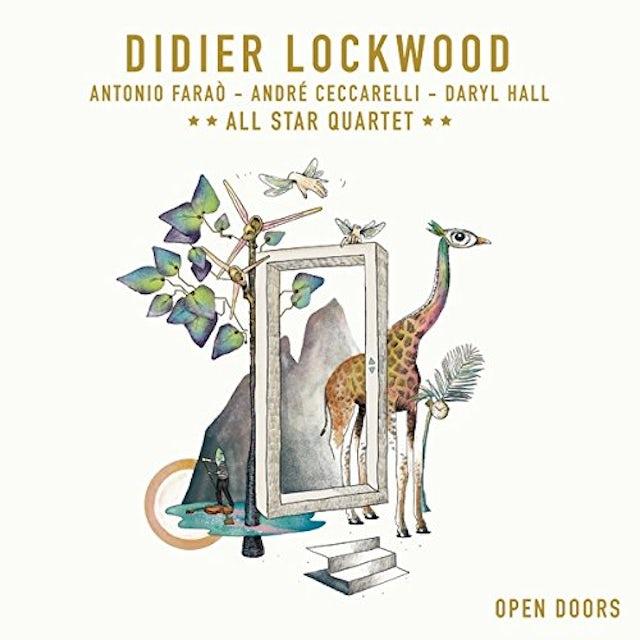 Didier Lockwood OPEN DOORS Vinyl Record