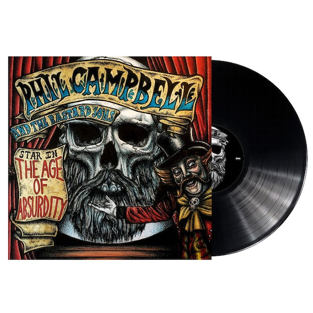 Phil Campbell & The Bastard Sons AGE OF ABSURDITY Vinyl Record