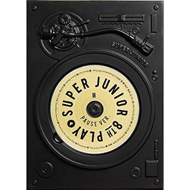 Super Junior VOL 8 (PLAY) PAUSE VERSION CD