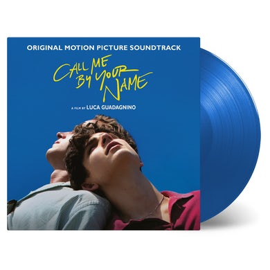 CALL ME BY YOUR NAME (BLUE VINYL) / O.S.T. Vinyl Record