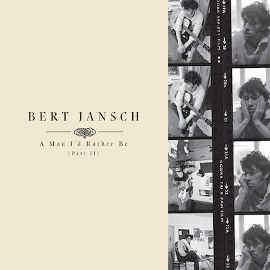 Bert Jansch A MAN I'D RATHER BE PART 2 Vinyl Record Box Set
