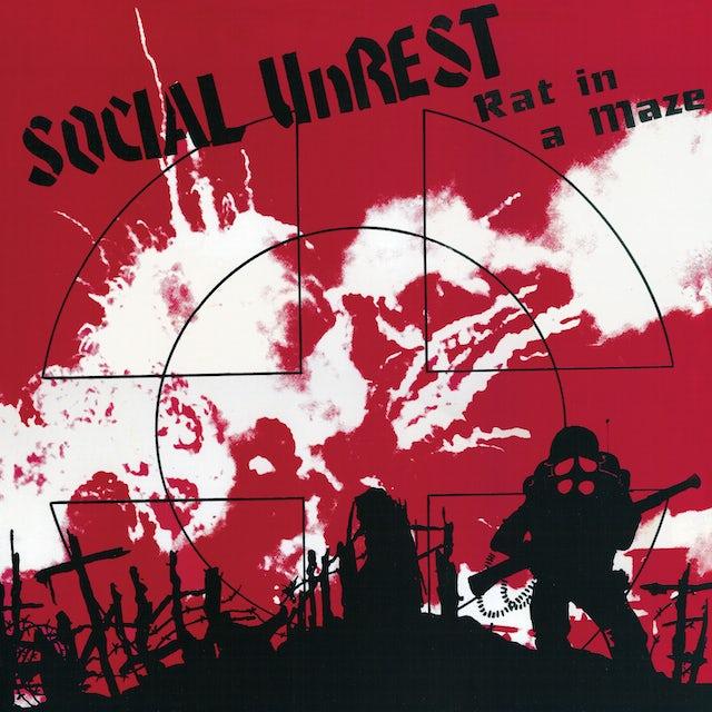 Social Unrest RAT IN A MAZE Vinyl Record