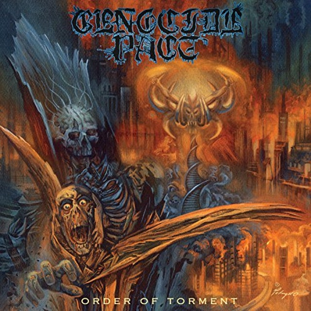 GENOCIDE PACT ORDER OF TORMENT Vinyl Record