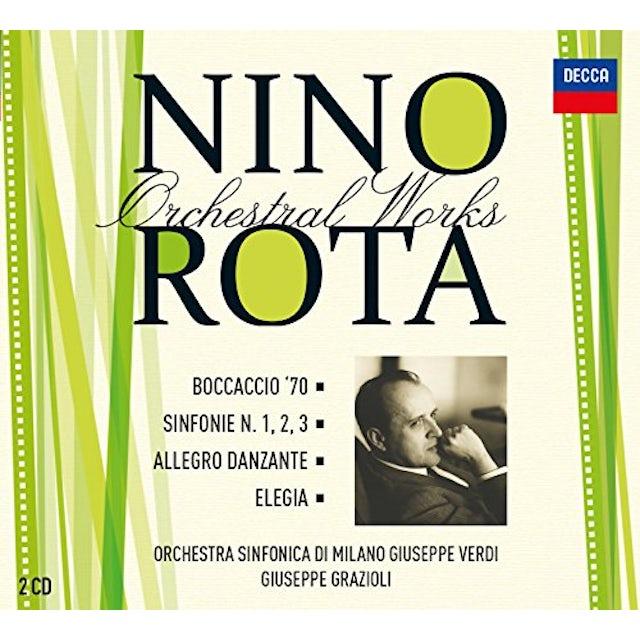 Nino Rota ORCHESTRAL WORKS VOL 6 CD