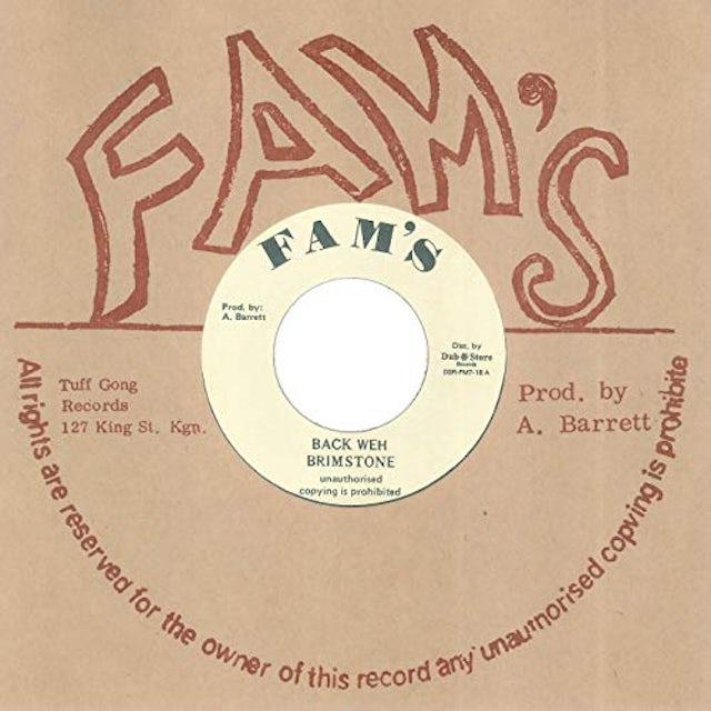 Brimstone BACK WEH Vinyl Record