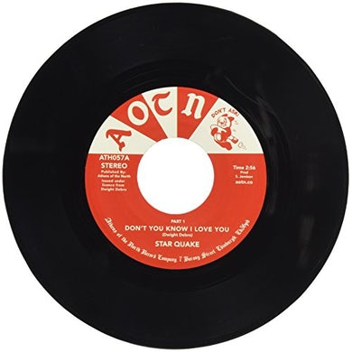 Star Quake DON'T YOU KNOW I LOVE YOU Vinyl Record