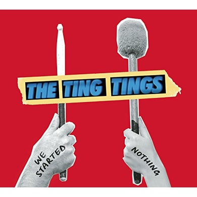 The Ting Tings WE STARTED NOTHING Vinyl Record