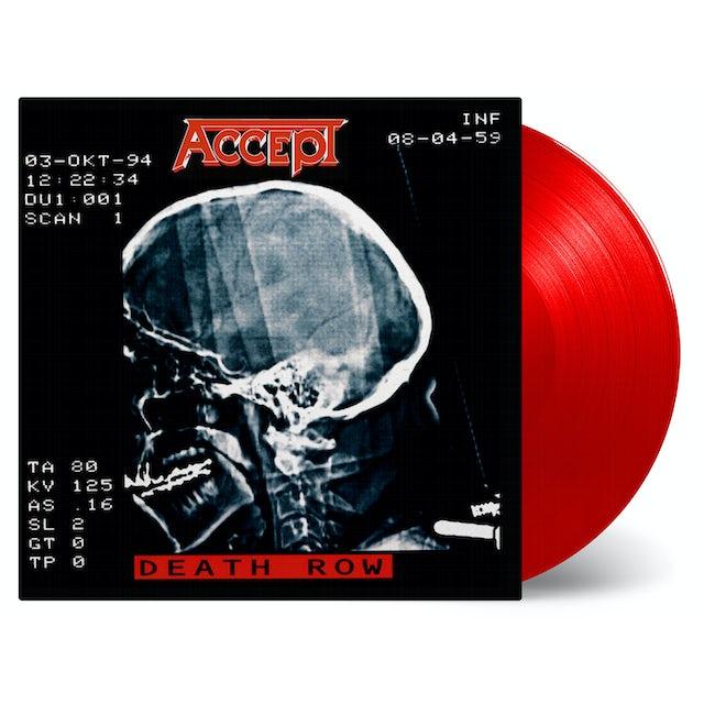 Accept DEATH ROW (RED VINYL) Vinyl Record