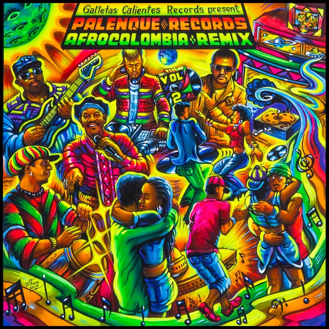 Palenque Records Afrocolombia Remix Vol. 2 / Var Vinyl Record
