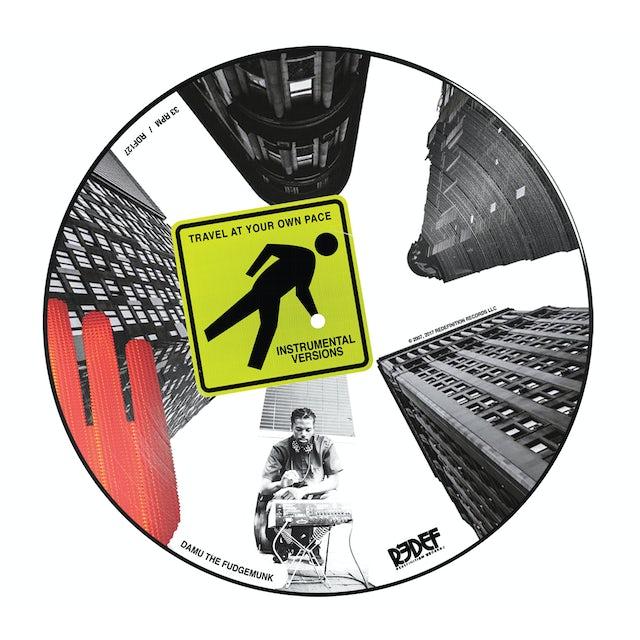 Damu The Fudgemunk / Y Society TRAVEL AT YOUR OWN PACE INSTRUMENTALS Vinyl Record