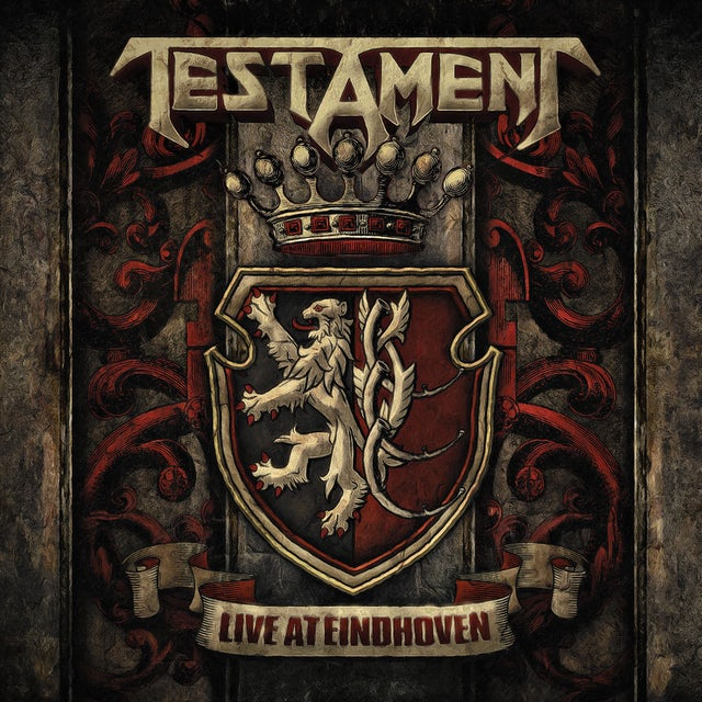 Testament LIVE AT EINDHOVEN CD