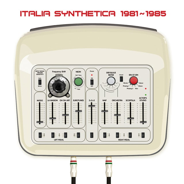 Italia Synthetica / Various Vinyl Record