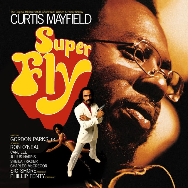 Curtis Mayfield SUPERFLY / O.S.T. Vinyl Record