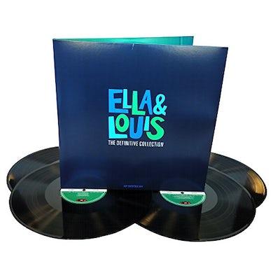 Ella Fitzgerald DEFINITIVE COLLECTION Vinyl Record