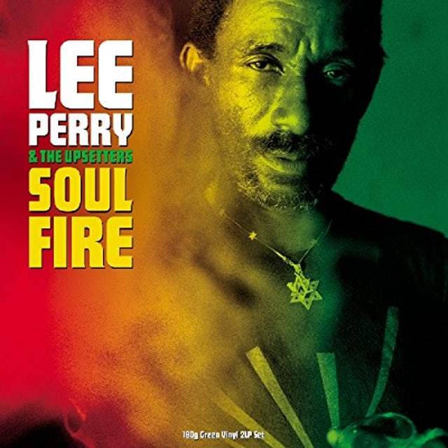 Lee Perry & The Upsetters SOUL ON FIRE Vinyl Record