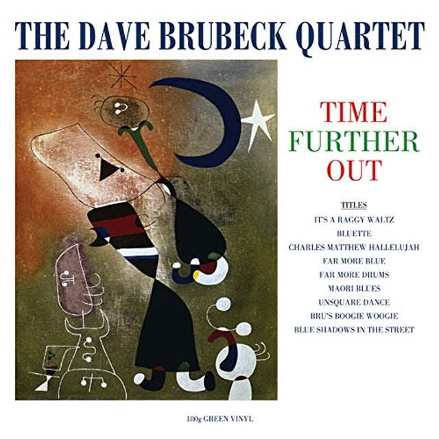 Dave Quartet Brubeck TIME FURTHER OUT Vinyl Record
