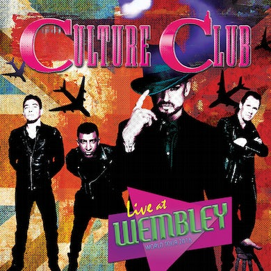 Culture Club LIVE AT WEMBLEY - WORLD TOUR 2016 - Limited Edition Colored Double Vinyl Record