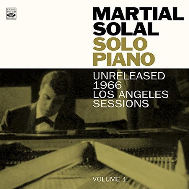 Martial Solal SOLO PIANO (UNRELEASED 1966 L.A. SESSIONS VOL 1) CD