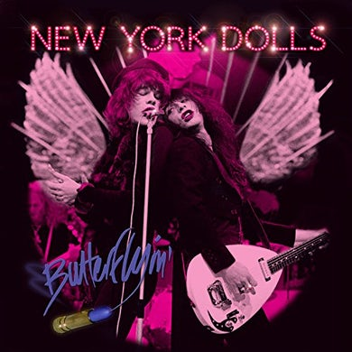 New York Dolls BUTTERFLYIN' CD