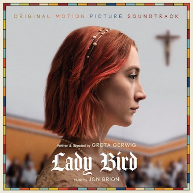 Jon Brion LADY BIRD / Original Soundtrack - Limited Edition White Colored Vinyl Record