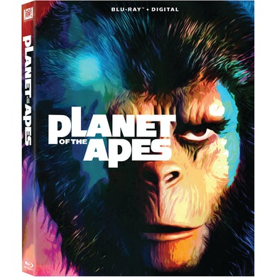 PLANET OF THE APES (1968) Blu-ray