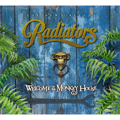 Radiators WELCOME TO THE MONKEY HOUSE CD