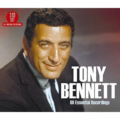 Tony Bennett 60 ESSENTIAL RECORDINGS CD