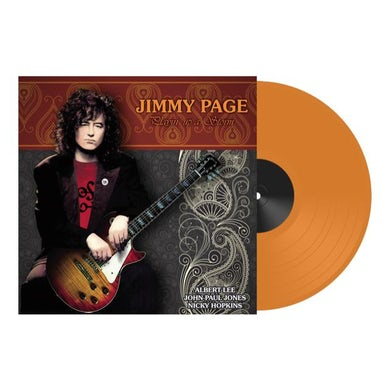 Jimmy Page PLAYIN UP A STORM Vinyl Record