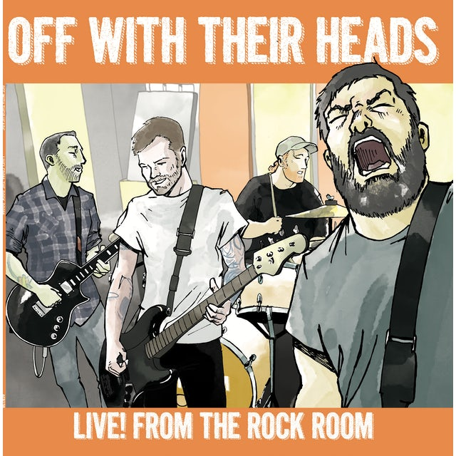 Off With Their Heads LIVE! FROM THE ROCK ROOM Vinyl Record