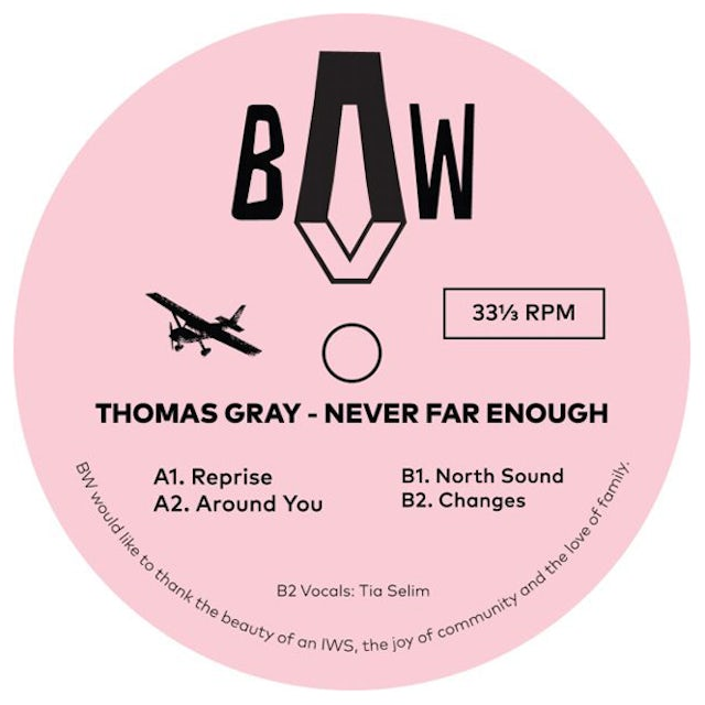 Thomas Gray NEVER FAR ENOUGH Vinyl Record