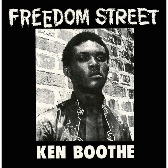Ken Boothe FREEDOM STREET Vinyl Record