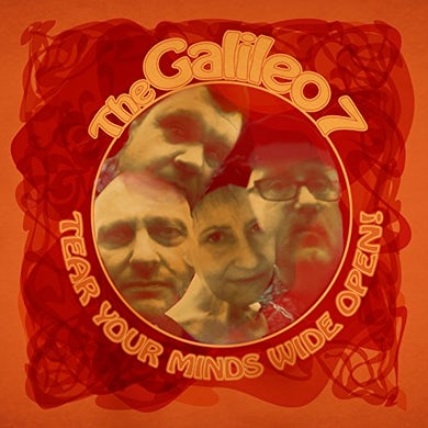 Galileo 7 TEAR YOUR MINDS WIDE OPEN Vinyl Record
