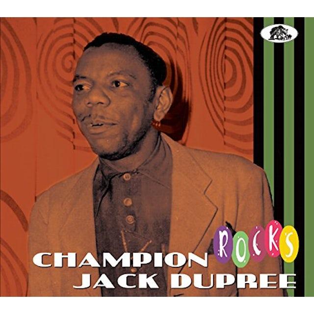 Champion Jack Dupree ROCKS CD