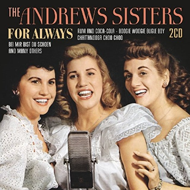 andrews sisters FOR ALWAYS CD