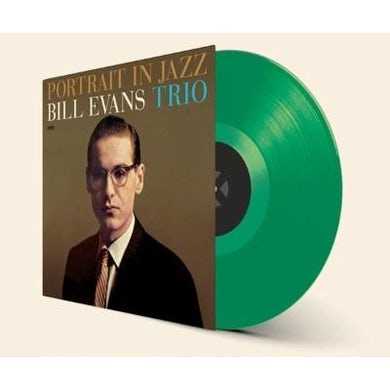 Bill Evans PORTRAIT IN JAZZ (BONUS TRACK) Vinyl Record - Colored Vinyl, Green Vinyl, Limited Edition