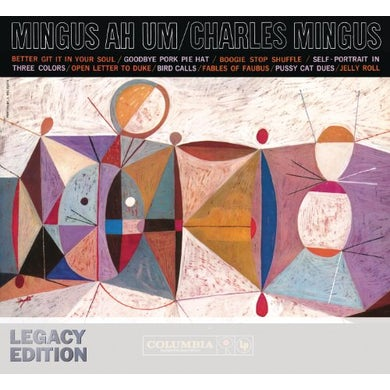 Charles Mingus MINGUS AH UM Vinyl Record - Blue Vinyl, Colored Vinyl, Limited Edition, 180 Gram Pressing, Remastered