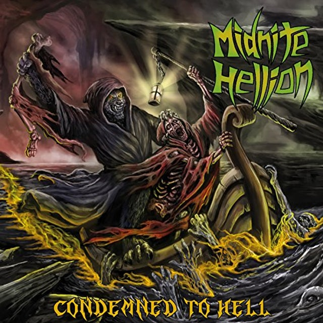 Midnite Hellion CONDEMNED TO HELL CD