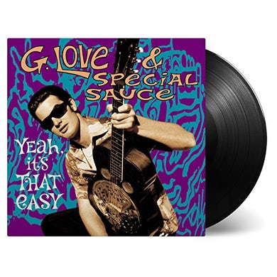 G. Love & Special Sauce YEAH IT'S THAT EASY Vinyl Record