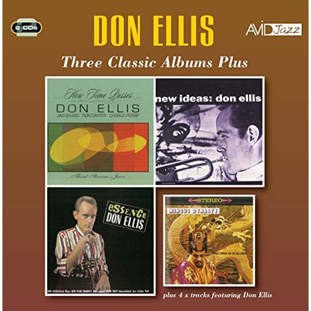 Don Ellis HOW TIME PASSES / NEW IDEAS / ESSENCE CD