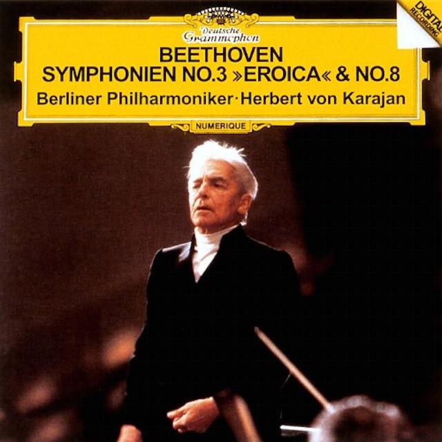Beethoven / Herbert Von Karajan BEETHOVEN: SYMPHONIES 3 EROICA CD