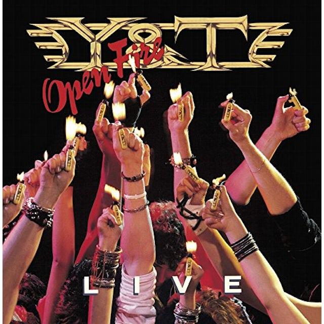 Y & T OPEN FIRE CD