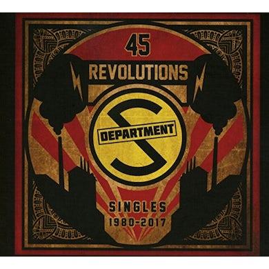Department S 45 REVOLUTIONS: SINGLES 1980-2017 Vinyl Record