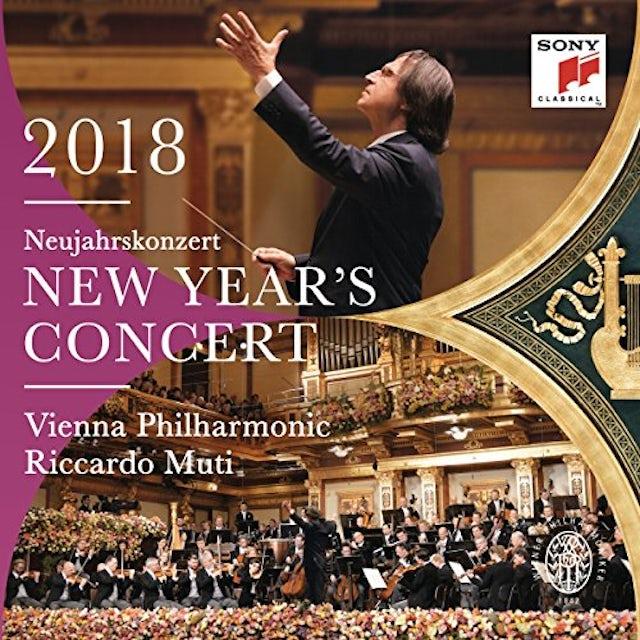 Riccardo Muti / Wiener Philharmoniker NEW YEAR'S CONCERT 2018 Vinyl Record