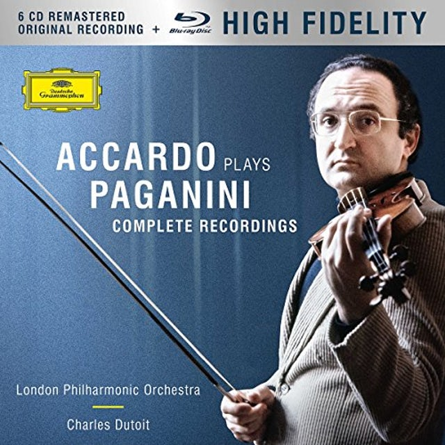Salvatore Accardo ACCARDO PLAYS PAGANINI - THE COMPLETE RECORDINGS CD