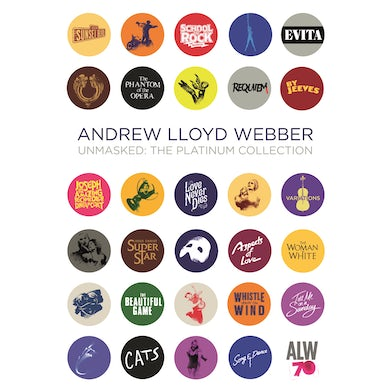 Andrew Lloyd Webber UNMASKED: THE PLATINUM COLLECTION CD