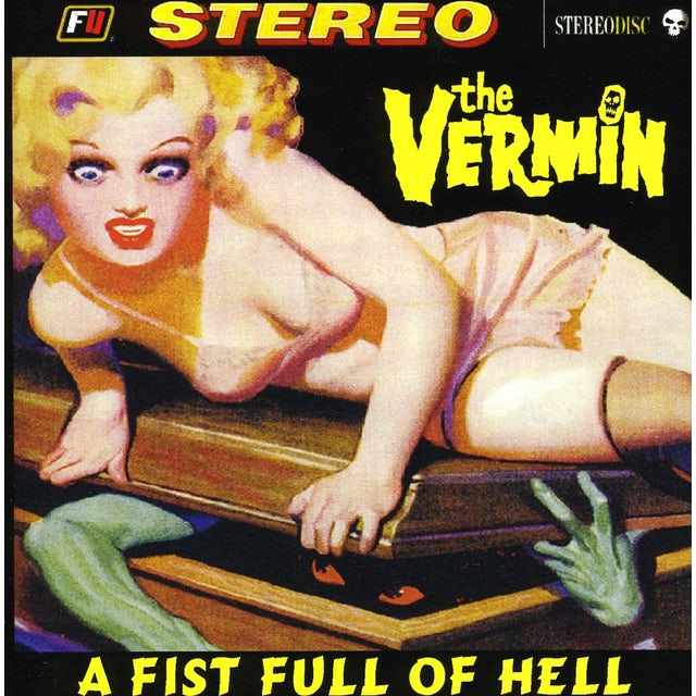 VERMIN FIST FULL OF HELL CD