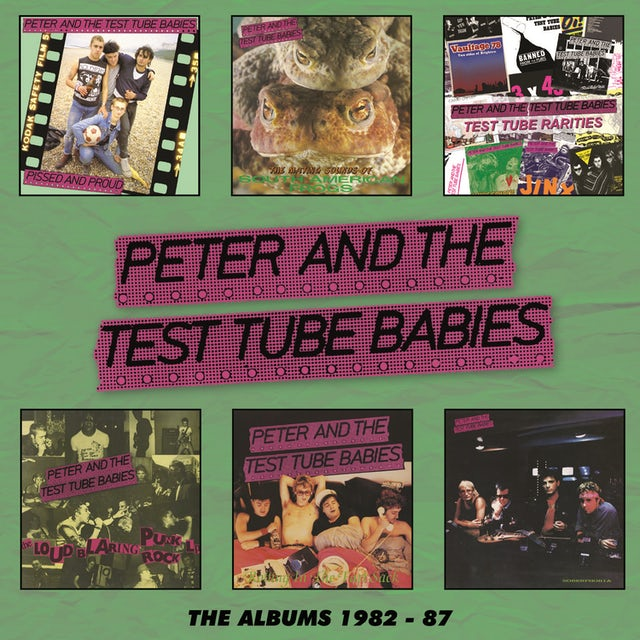 Peter and the Test Tube Babies ALBUMS 1982-1987 CD