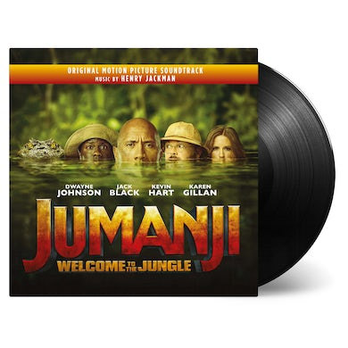 Henry Jackman JUMANJI: WELCOME TO THE JUNGLE Vinyl Record