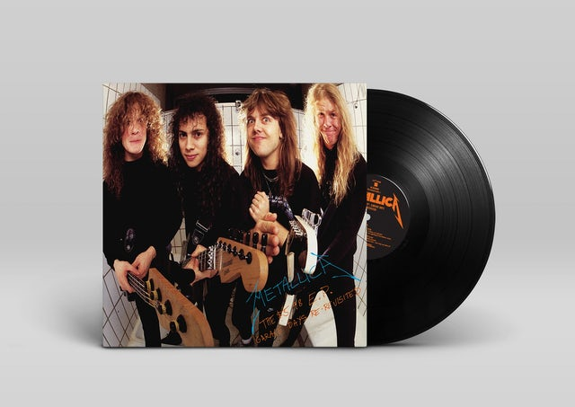 Metallica 5.98 EP - GARAGE - GARAGE DAYS RE-REVISITED Vinyl Record