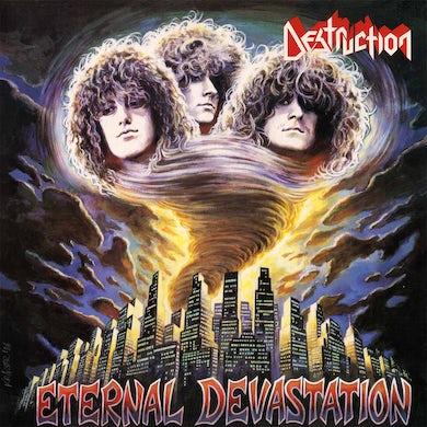 Destruction ETERNAL DEVASTATION (BLOOD RED VINYL) Vinyl Record